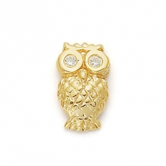 GOLD / CZ WISE OWL