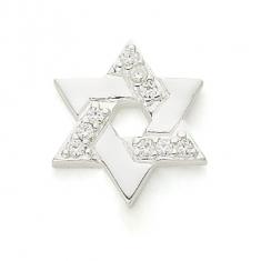SILVER / CZ STAR OF DAVID