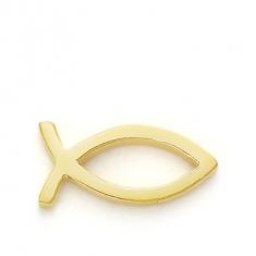 GOLD / CHRISTIAN FISH