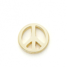 GOLD / PEACE SIGN