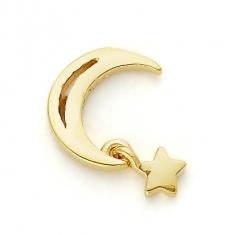 GOLD / MOON & STAR