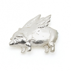 SILVER / FLYING PIG