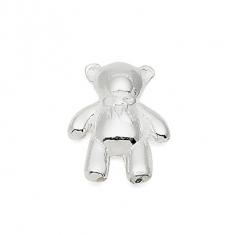 SILVER / TEDDY BEAR