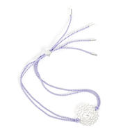 The Crown Chakra Silver-violet cord