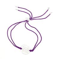 The Brow Chakra Silver-indigo cord