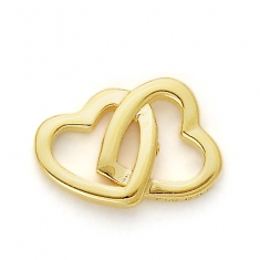 GOLD TWO HEARTS