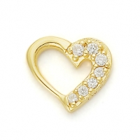 GOLD / CZ WITH LOVE