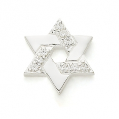 SILVER / CZ STAR OF DAVID