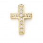 GOLD / CZ CROSS