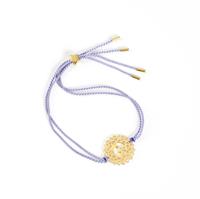 Crown Chakra Gold-violet cord