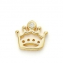 GOLD / CZ  CROWN