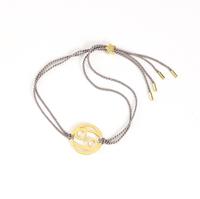 Cancer Zodiac Gold-silver cord