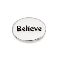 Silver Believe Earrings