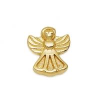 Gold Angel Earrings