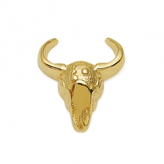 Gold Horns Earrings