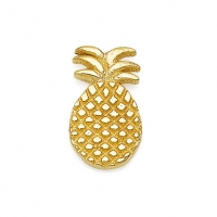 Gold Pineapple Earrings