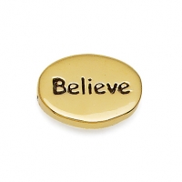 Gold Believe Earrings