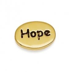 Gold Hope Earrings