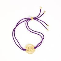 Brow Chakra Gold-indigo cord
