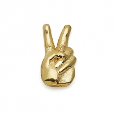 GOLD / PEACE FINGERS