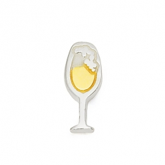 SILVER/GOLD  CHAMPAGNE FLUTE