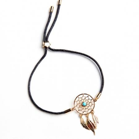 TaraWolf Chakra Dreamcatcher Aglaea Gold Bracelet Inspiration Dream Catcher Gold Bracelet