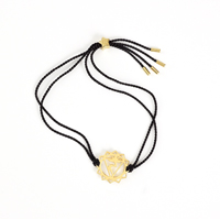Solar Plexus Chakra-black cord