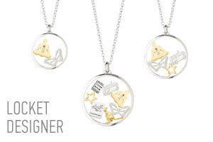 Tara Wolf Locket Designer